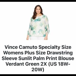 Women's Vince Camuto Blouse NWT